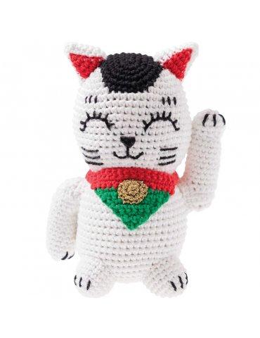 Kit crochet - Ricorumi Lucky Cat - Rico Design