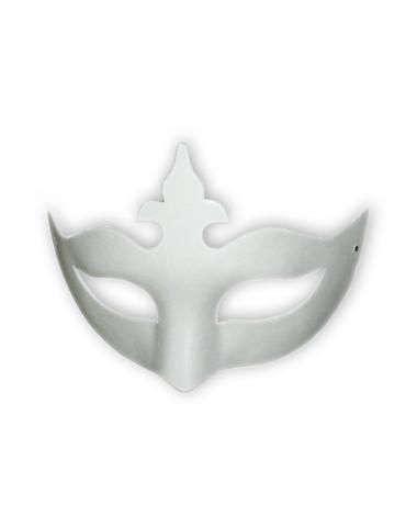 Masque carton Loup Lys x2