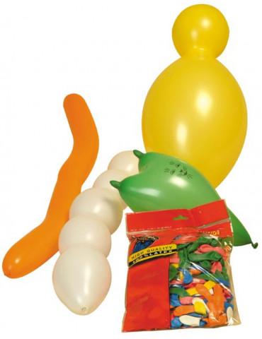 Ballons formes assorties x100