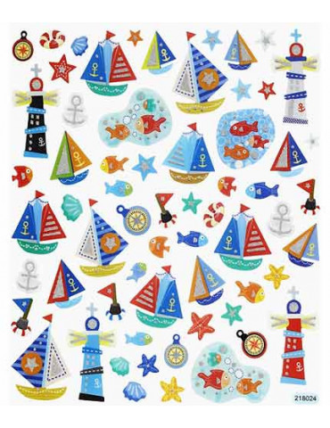 Gommettes stickers Maritime...
