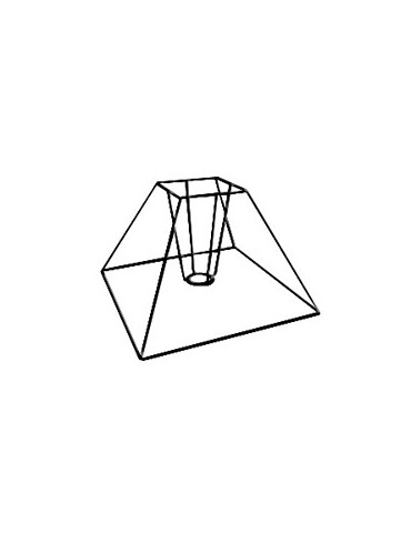 Carcasse Pyramide 15x8x13 cm