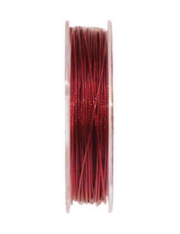 Fil cablé 0,5mm - Rouge