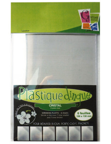 Plastique dingue cristal -...