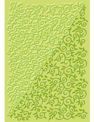 Plaque texture FIMO - Volutes