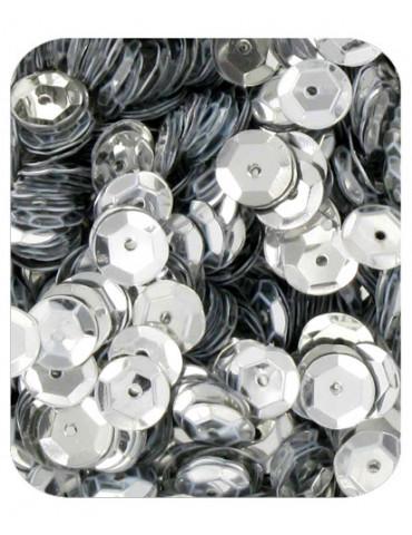 Sequins 6mm argent - 15gr