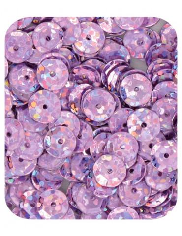 Sequins 6mm violet...