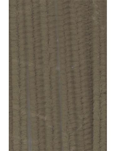 Chenilles gris 8mm x10