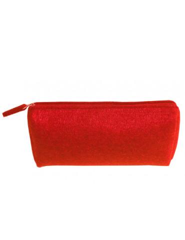 Trousse fourre tout rouge