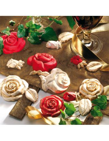 Moule pour FIMO - Roses