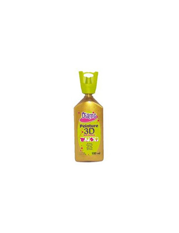 Maxi DIAM'S 3D nacré or 100ml