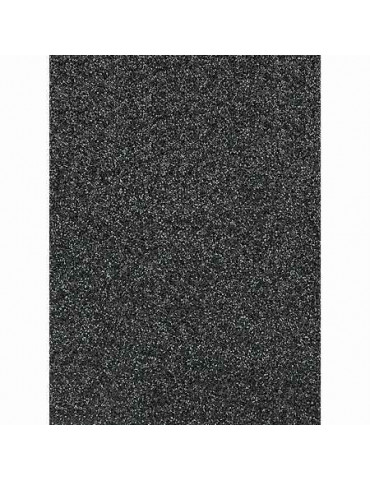 Carton pailleté Noir x10