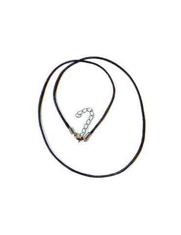 Collier noir PVC x5