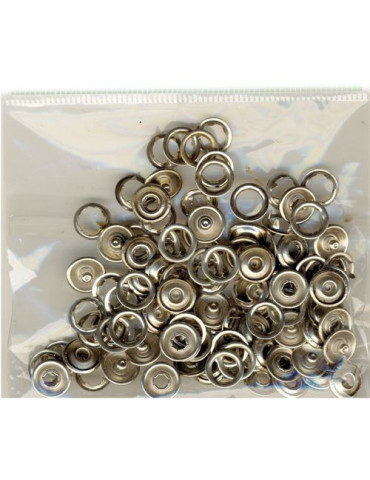 Boutons pression 9mm x50