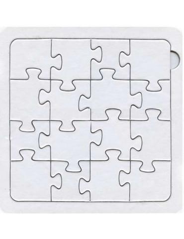 Puzzle 16 pièces à décorer...