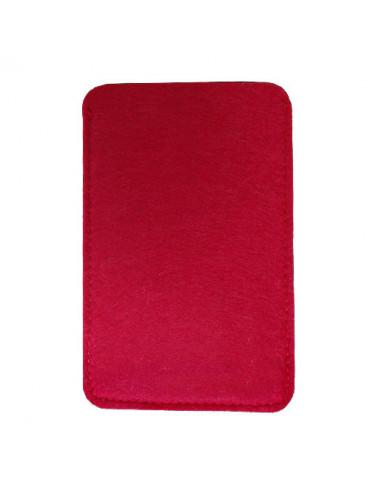 Housse Smartphone feutre Rouge