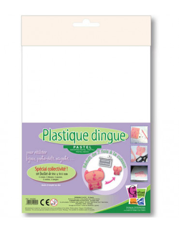 Plastique dingue assortient...