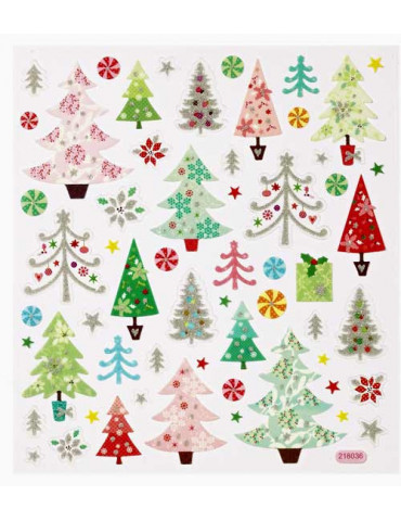 Stickers design Sapins