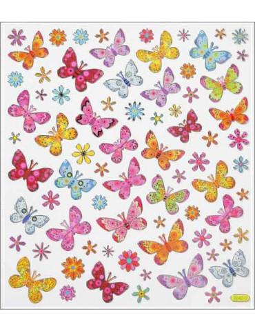 Gommettes Papillons x75