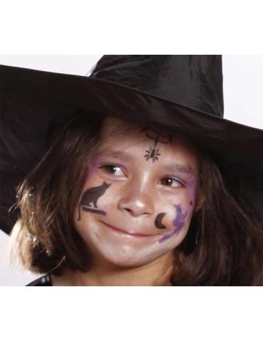 Maquillage pochoirs -...