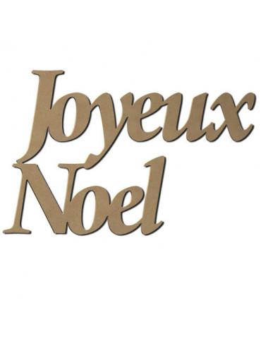 Mot Joyeux Noel MDF 58cm -...