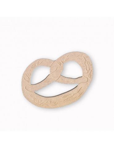 Support bois -Bretzel 11,5 cm
