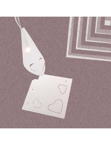 Mini abat-jours cœur - 5...