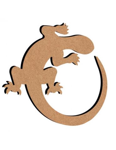 Salamandre en bois - 26cm
