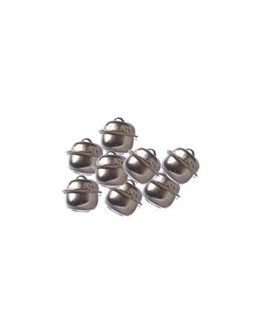 Grelots argent 12 mm x100