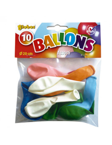 Ballons de baudruche 20cm x10