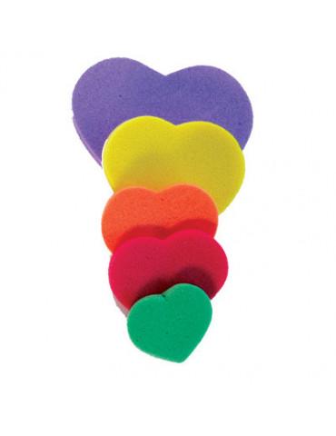 Coeurs en mousse - 200 pièces
