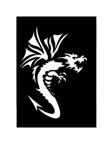 Pochoir adhésif PM - Dragon 2