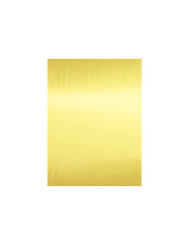Tissu thermocollant Métal or