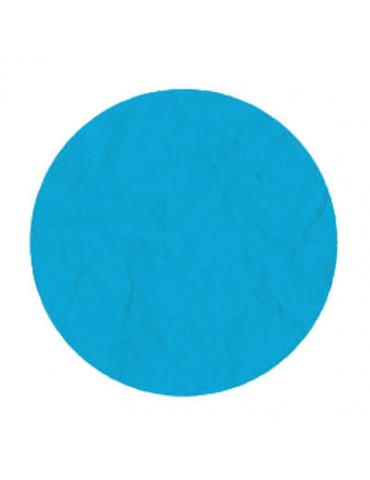 Papier de soie bleu...