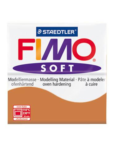 Fimo Soft cognac 56 gr