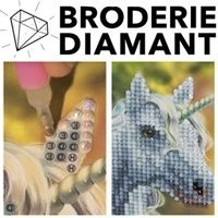 Kits à Diamanter - Broderie Diamants Crystal Art