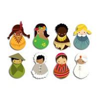 Embellissements en bois pour loisirs créatifs - Petits accessoires en bois