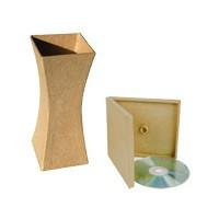 Objet papier maché - Support en carton à décorer